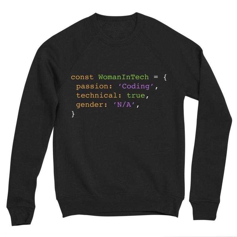Woman in Tech definition Women's Sponge Fleece Sweatshirt by Women in Technology Online Store