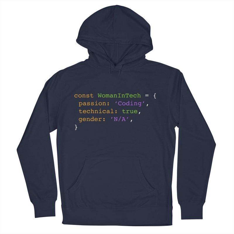 Woman in Tech definition Men's Pullover Hoody by Women in Technology Online Store