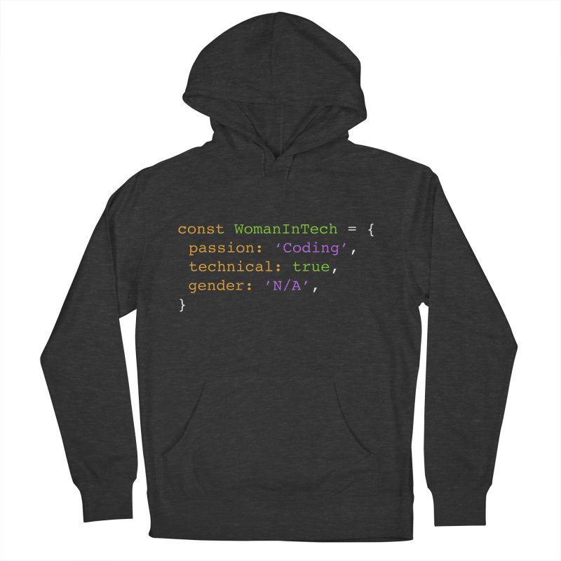 Woman in Tech definition Men's French Terry Pullover Hoody by Women in Technology Online Store