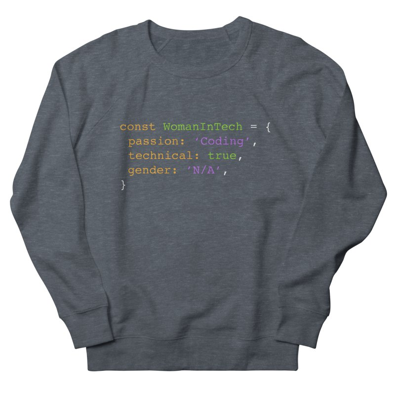 Woman in Tech definition Women's Sweatshirt by Women in Technology Online Store