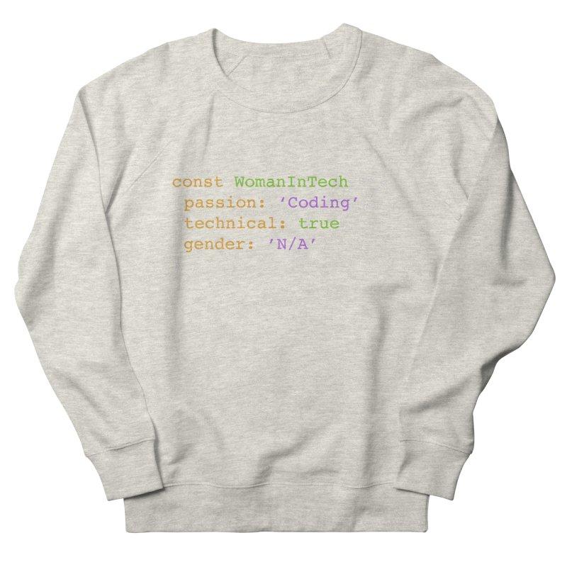 Woman in Tech definition Men's French Terry Sweatshirt by Women in Technology Online Store