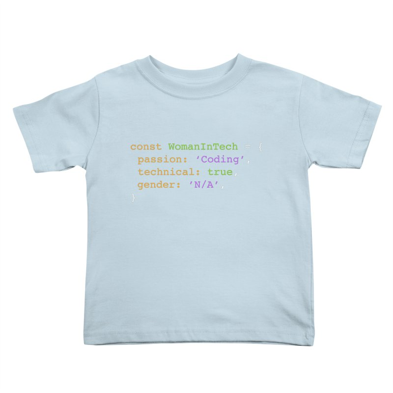 Woman in Tech definition Kids Toddler T-Shirt by Women in Technology Online Store