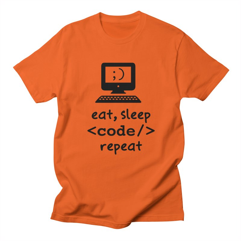 Eat, Sleep, <Code/>, Repeat Women's T-Shirt by Women in Technology Online Store