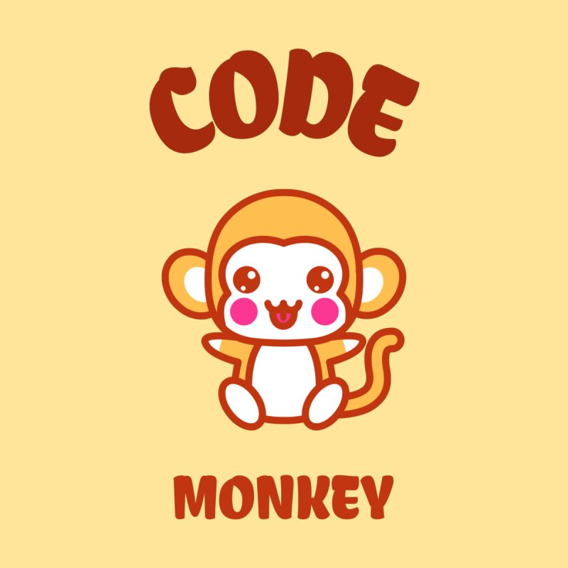 Code Monkey Men's Sweatshirt by Women in Technology Online Store