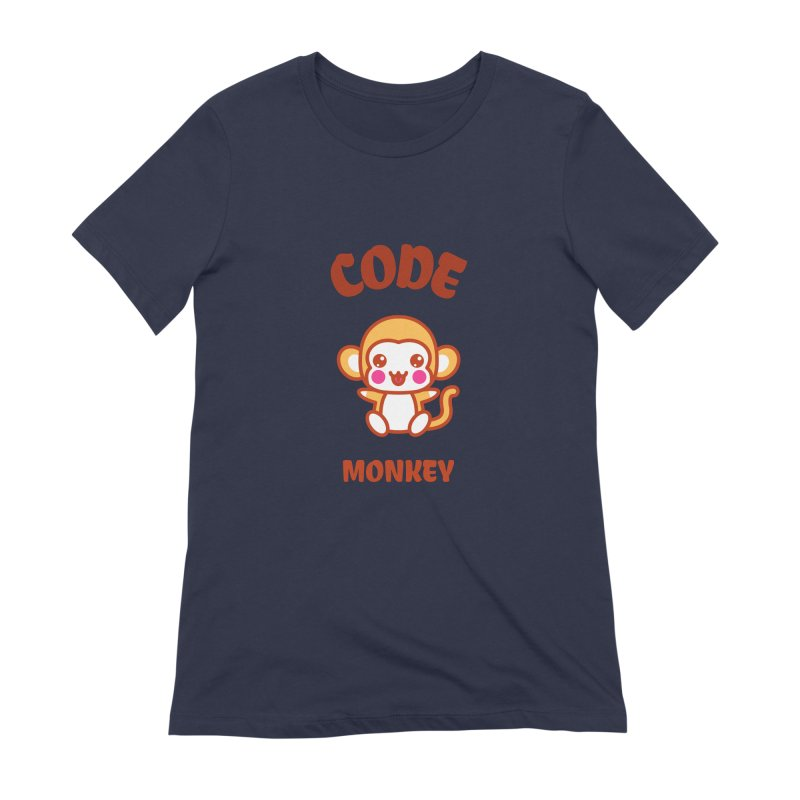 Code Monkey Women's Extra Soft T-Shirt by Women in Technology Online Store