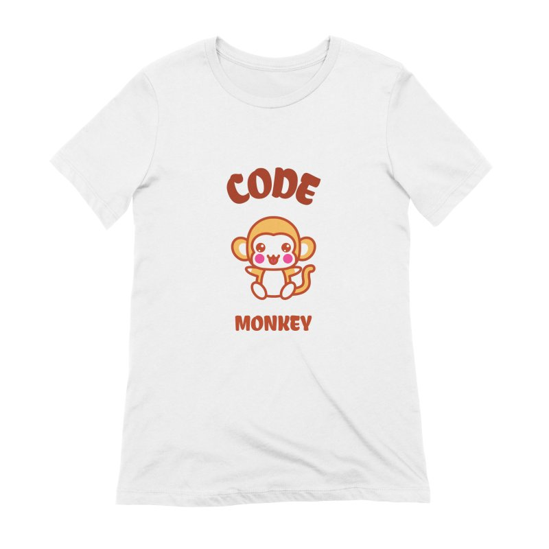 Code Monkey Women's Extra Soft T-Shirt by Women in Technology Online Store