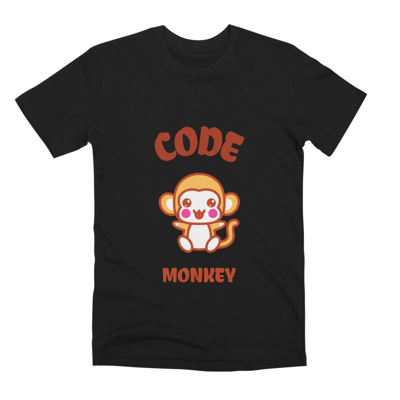Code Monkey Men's Premium T-Shirt by Women in Technology Online Store