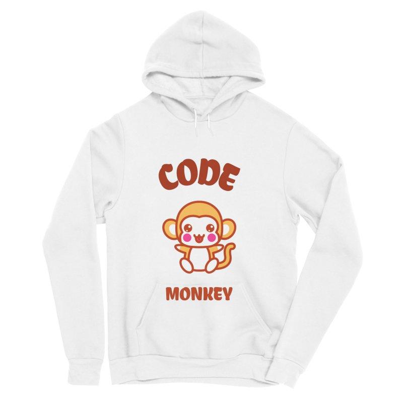 Code Monkey Women's Sponge Fleece Pullover Hoody by Women in Technology Online Store