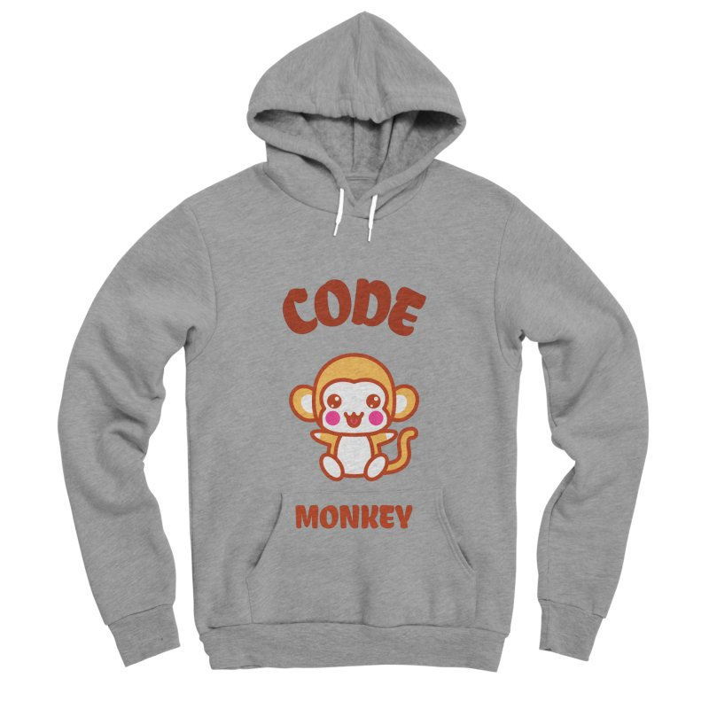 Code Monkey Women's Sponge Fleece Pullover Hoody by Women in Technology Online Store