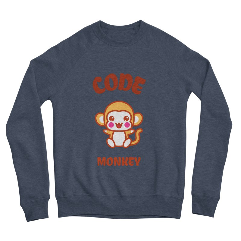 Code Monkey Men's Sponge Fleece Sweatshirt by Women in Technology Online Store