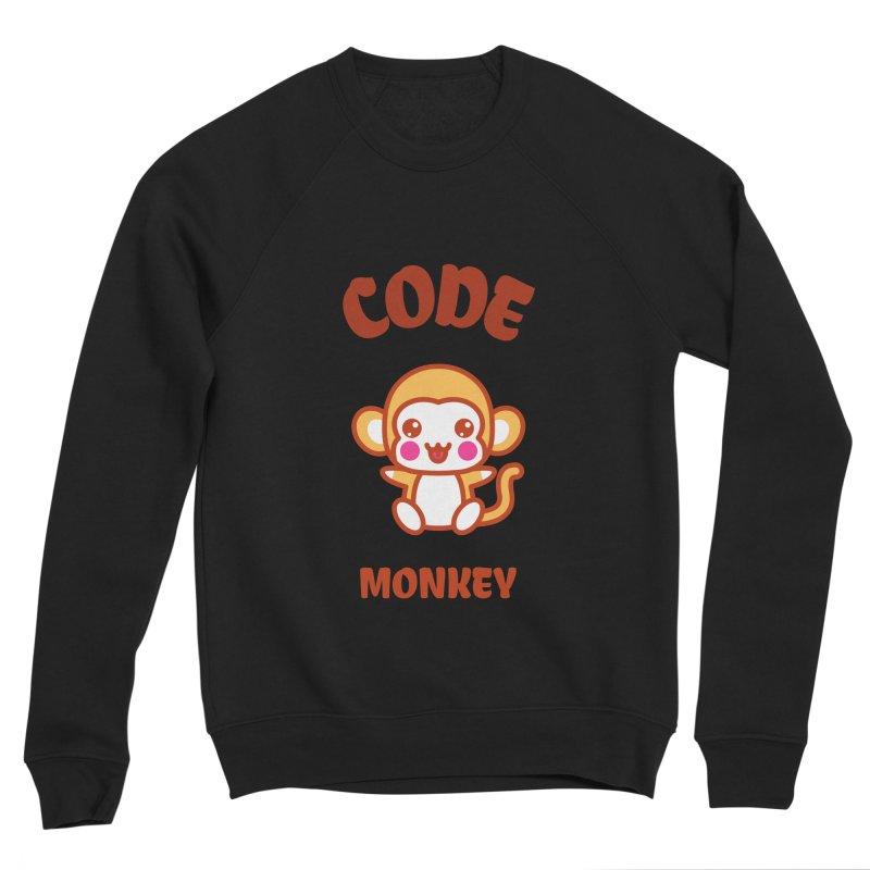 Code Monkey Women's Sponge Fleece Sweatshirt by Women in Technology Online Store