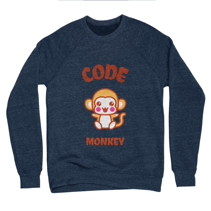 Code Monkey Women's Sponge Fleece Sweatshirt by Women in Technology Online Store