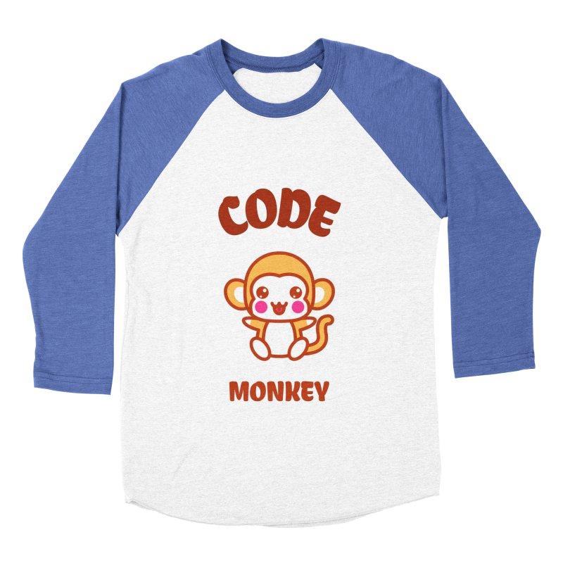 Code Monkey Men's Longsleeve T-Shirt by Women in Technology Online Store