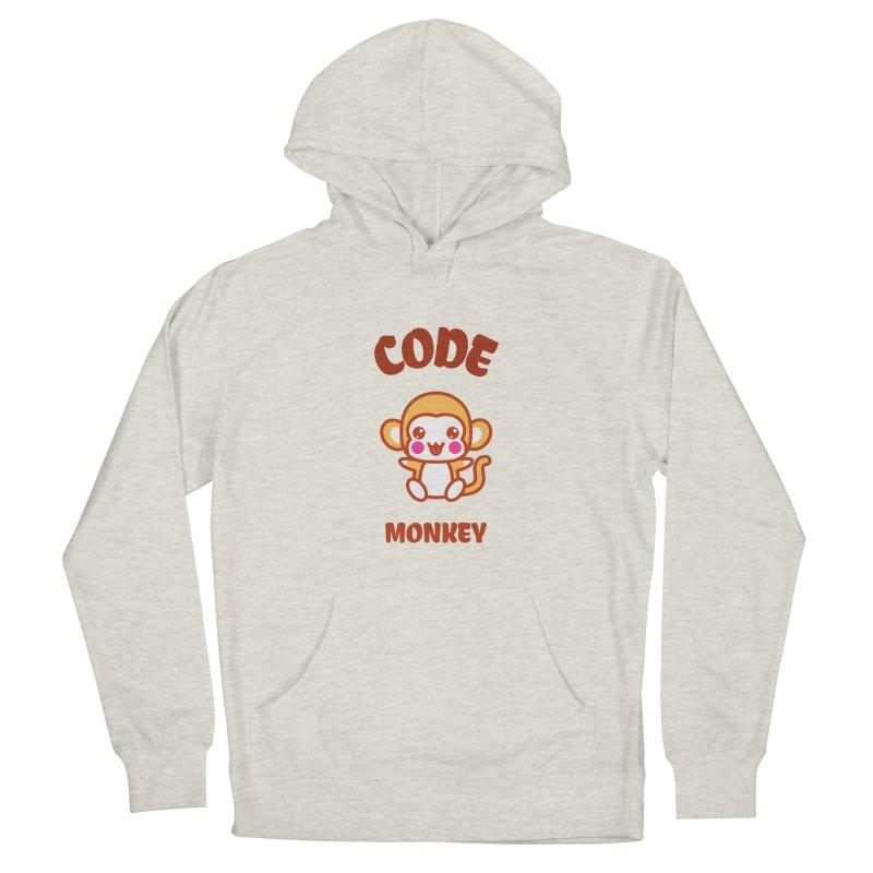 Code Monkey Women's Pullover Hoody by Women in Technology Online Store