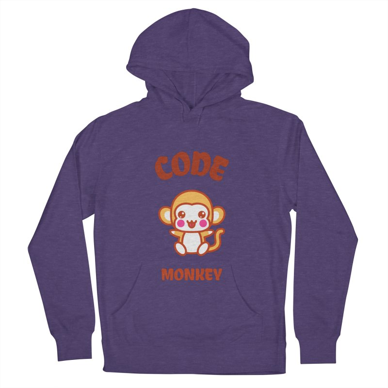Code Monkey Men's French Terry Pullover Hoody by Women in Technology Online Store