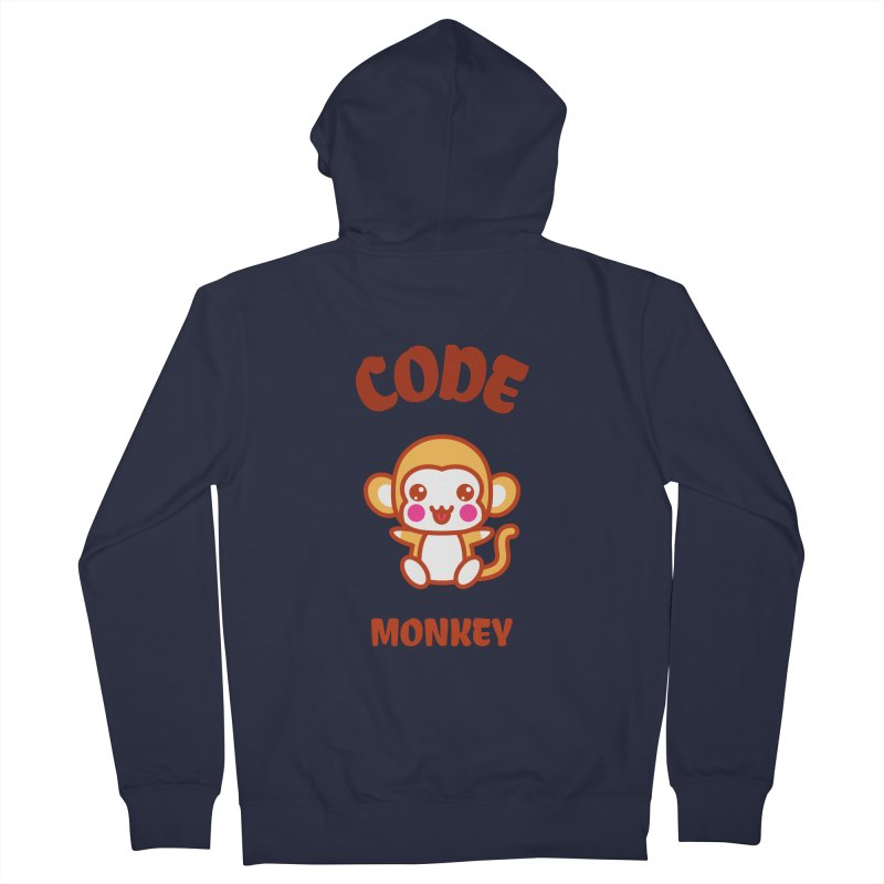 Code Monkey Women's French Terry Zip-Up Hoody by Women in Technology Online Store