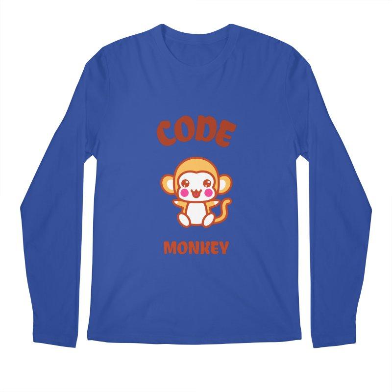 Code Monkey Men's Regular Longsleeve T-Shirt by Women in Technology Online Store