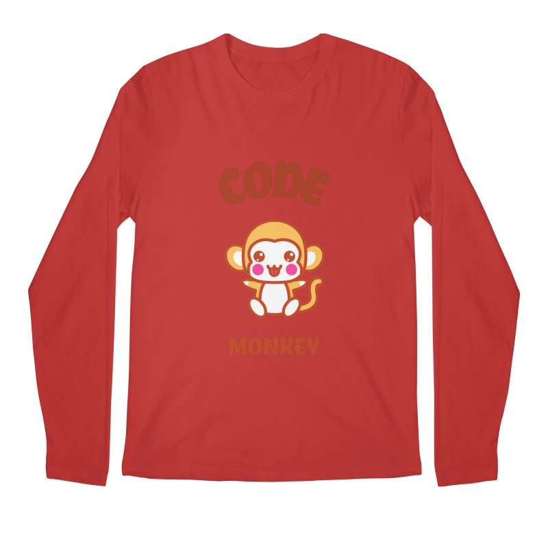 Code Monkey Men's Regular Longsleeve T-Shirt by Women in Technology Online Store