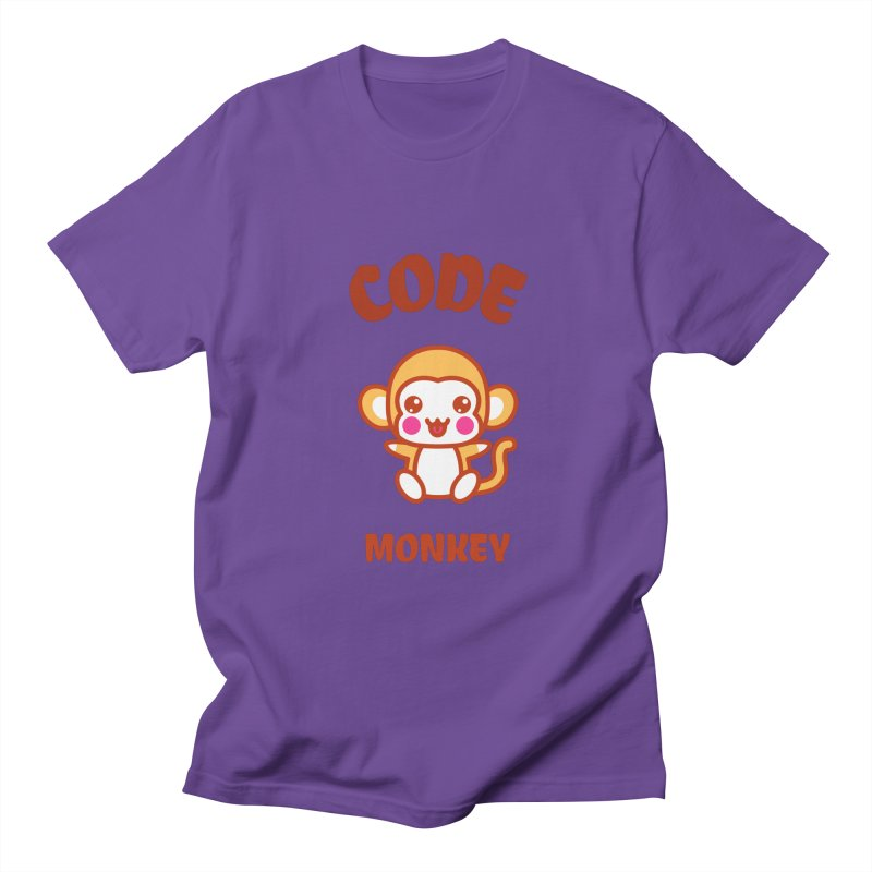 Code Monkey Women's Regular Unisex T-Shirt by Women in Technology Online Store