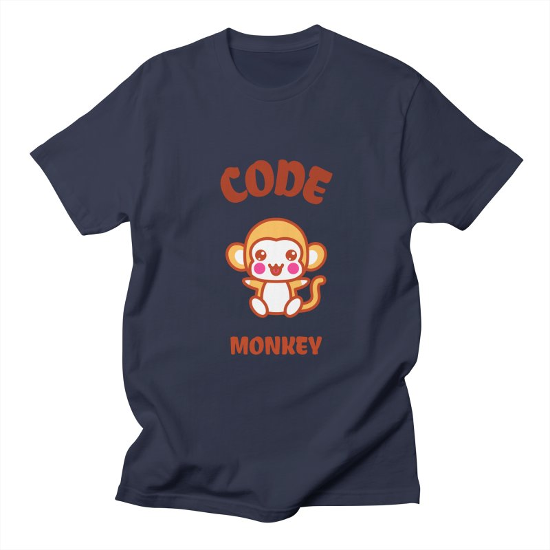 Code Monkey Men's T-Shirt by Women in Technology Online Store