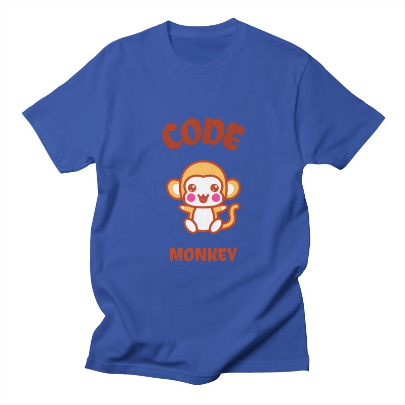 Code Monkey Men's Regular T-Shirt by Women in Technology Online Store