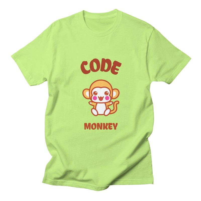 Code Monkey Men's T-Shirt by Women in Technology Online Store