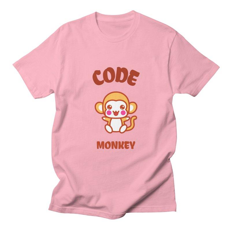 Code Monkey Men's Regular T-Shirt by Women in Technology Online Store