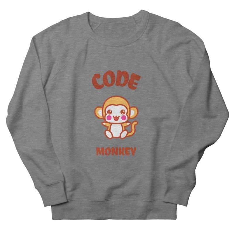 Code Monkey Women's French Terry Sweatshirt by Women in Technology Online Store