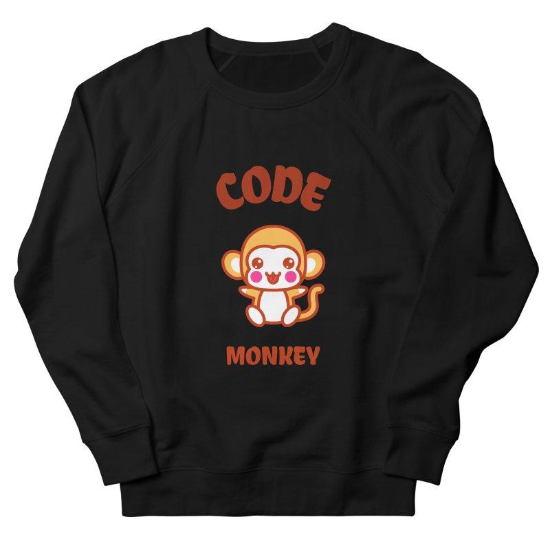 Code Monkey Women's Sweatshirt by Women in Technology Online Store