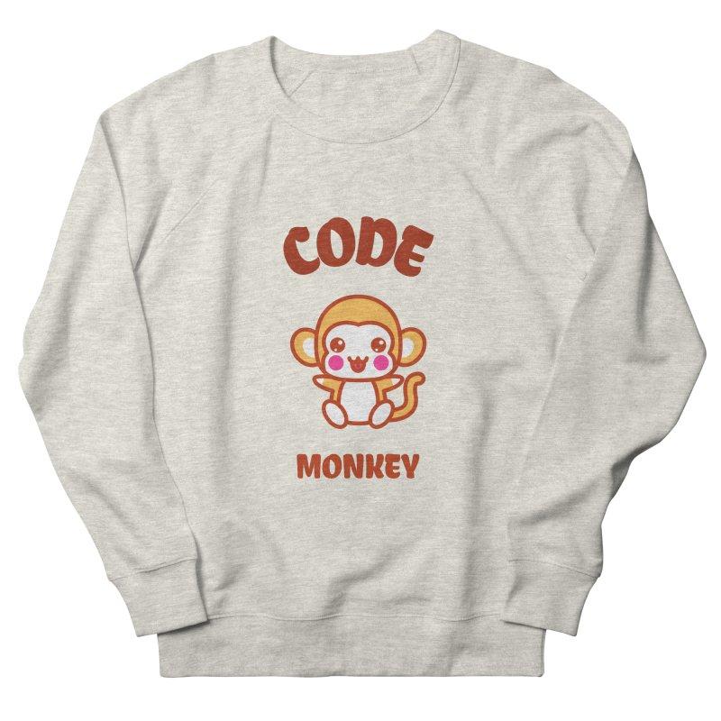 Code Monkey Men's French Terry Sweatshirt by Women in Technology Online Store