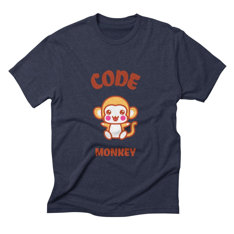 Code Monkey Men's Triblend T-Shirt by Women in Technology Online Store