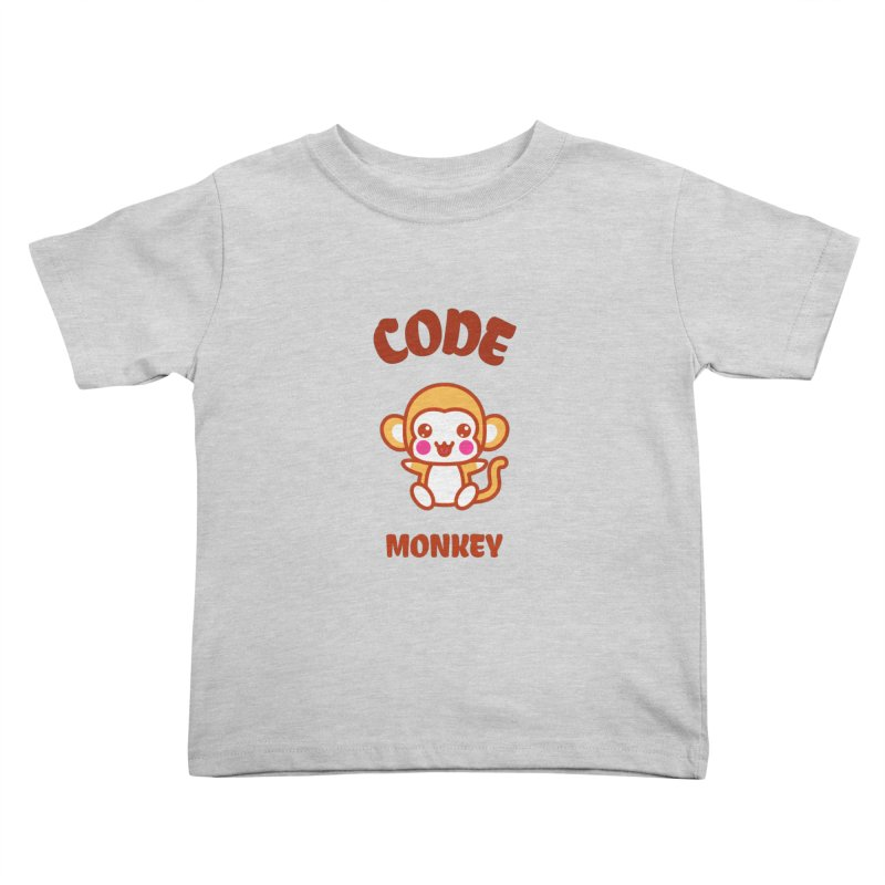 Code Monkey Kids Toddler T-Shirt by Women in Technology Online Store