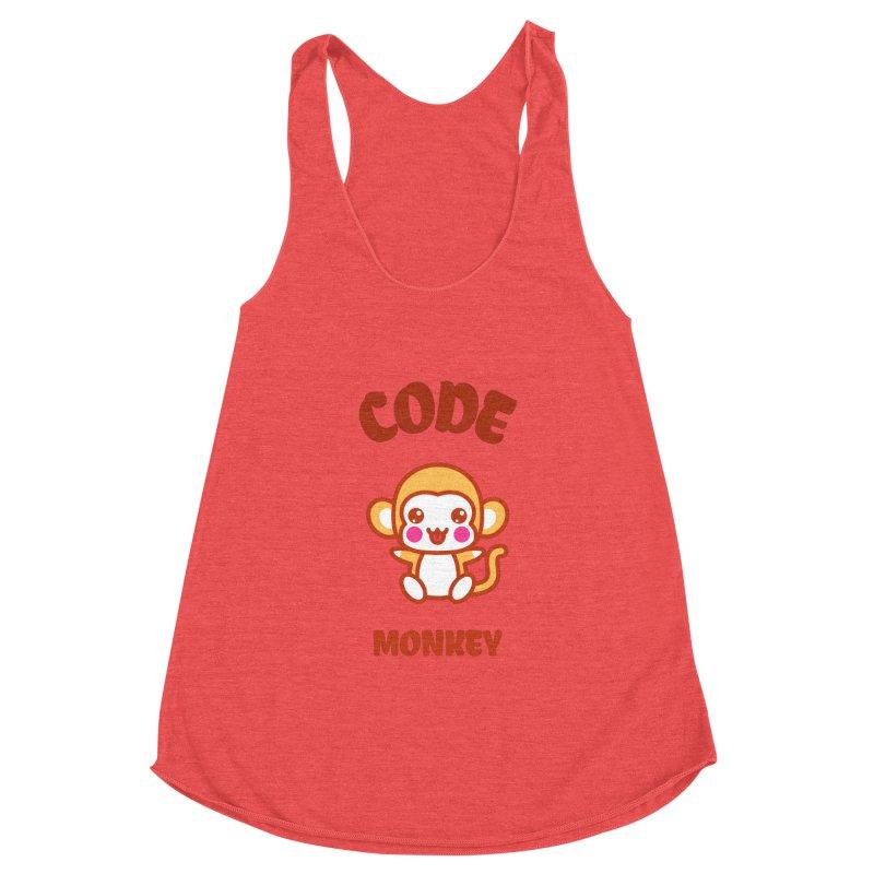 Code Monkey Women's Tank by Women in Technology Online Store