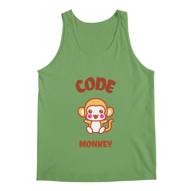 Code Monkey Men's Tank by Women in Technology Online Store