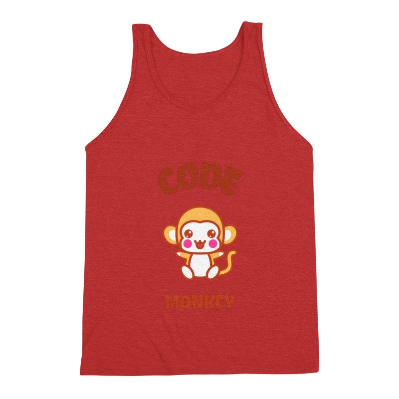 Code Monkey Men's Triblend Tank by Women in Technology Online Store