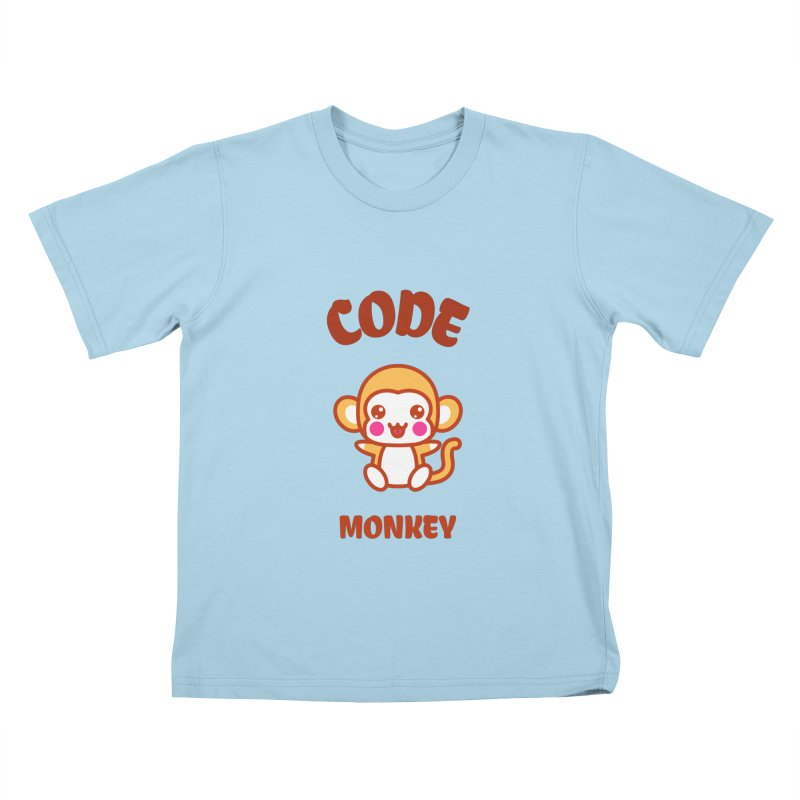 Code Monkey Kids T-Shirt by Women in Technology Online Store