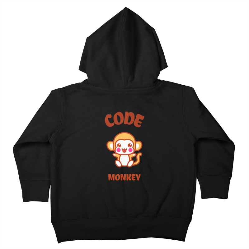 Code Monkey Kids Toddler Zip-Up Hoody by Women in Technology Online Store