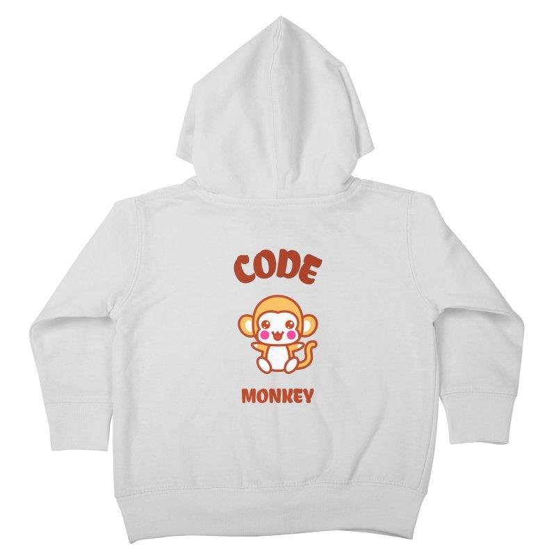 Code Monkey Kids Toddler Zip-Up Hoody by Women in Technology Online Store