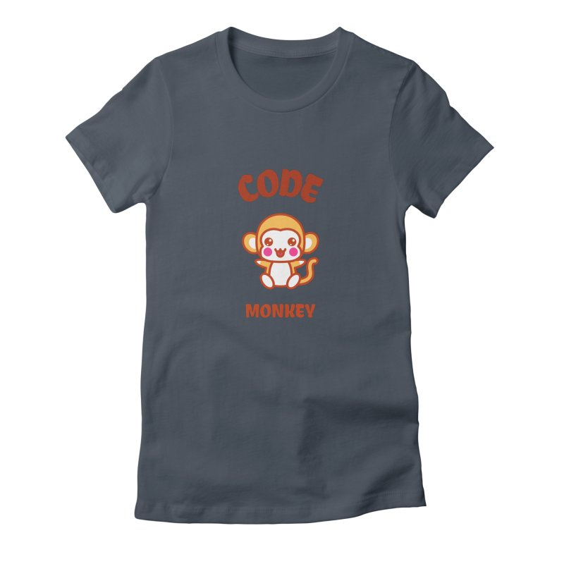 Code Monkey Women's T-Shirt by Women in Technology Online Store
