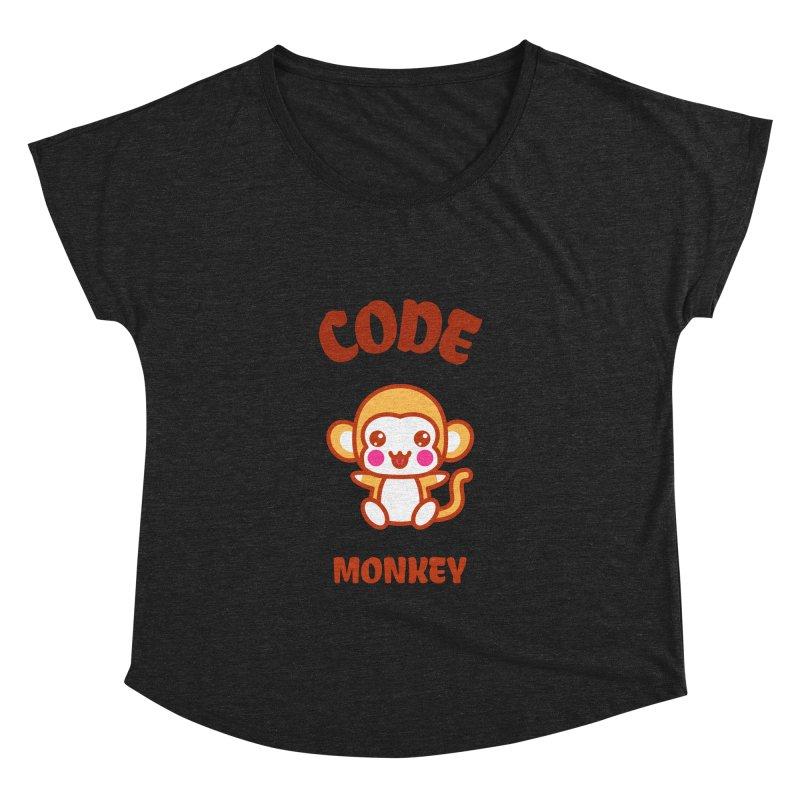 Code Monkey Women's Dolman Scoop Neck by Women in Technology Online Store