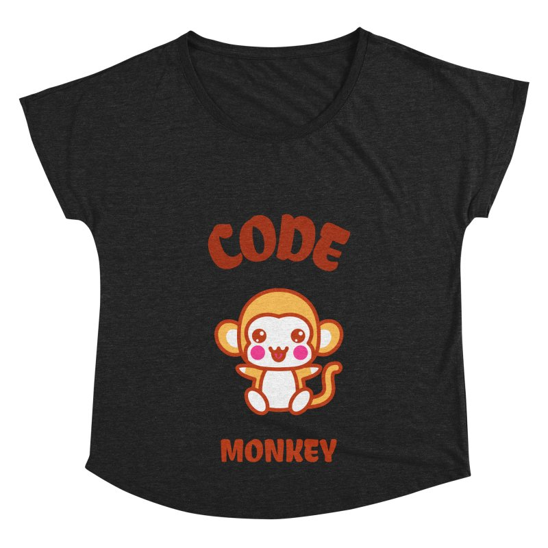 Code Monkey Women's Dolman Scoop Neck by Women in Technology Online Store