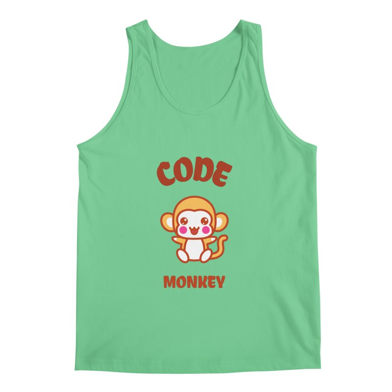 Code Monkey Men's Regular Tank by Women in Technology Online Store