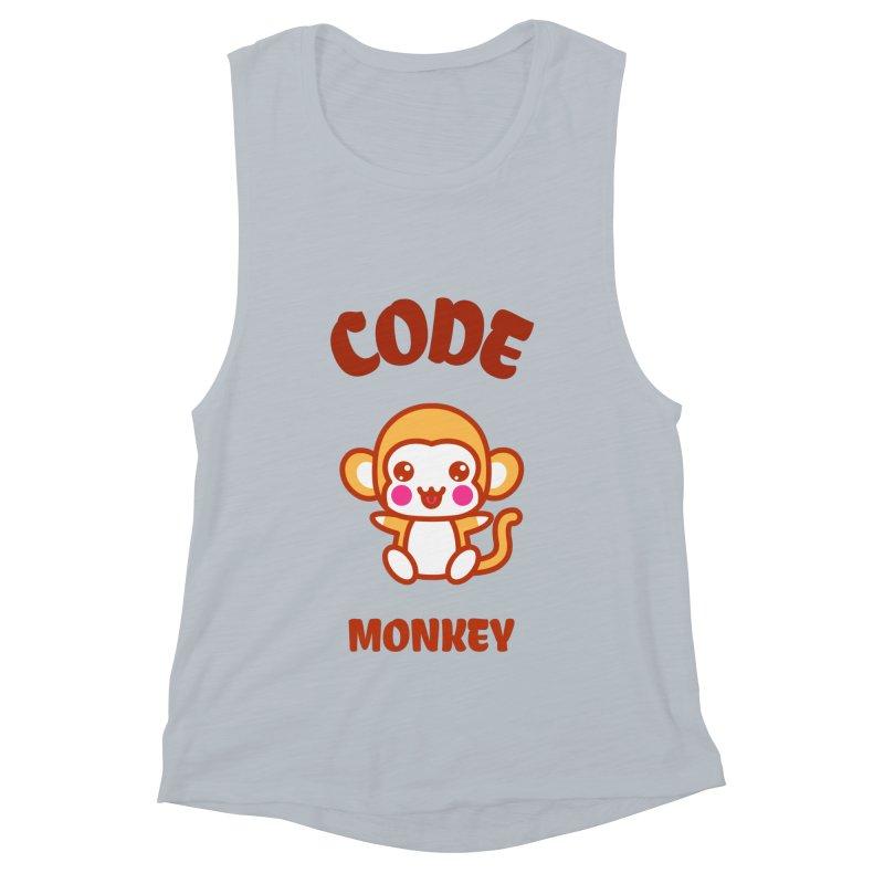 Code Monkey Women's Muscle Tank by Women in Technology Online Store