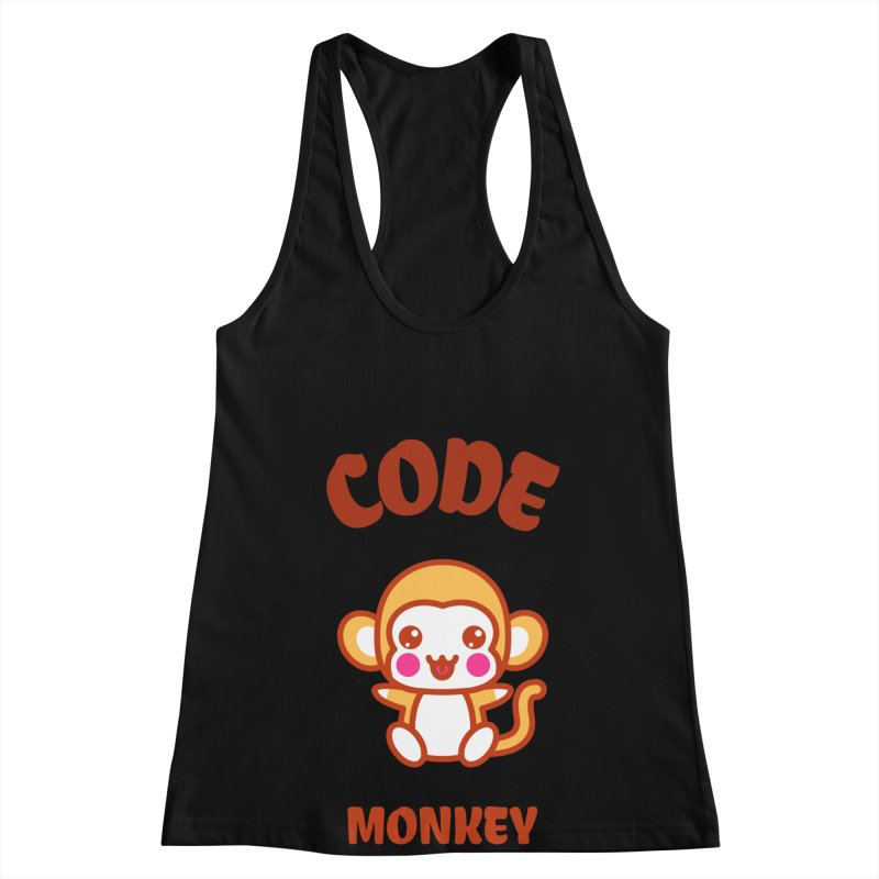 Code Monkey Women's Racerback Tank by Women in Technology Online Store