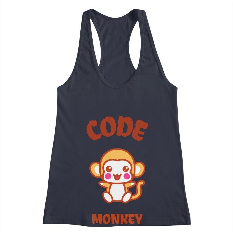 Code Monkey Women's Racerback Tank by Women in Technology Online Store