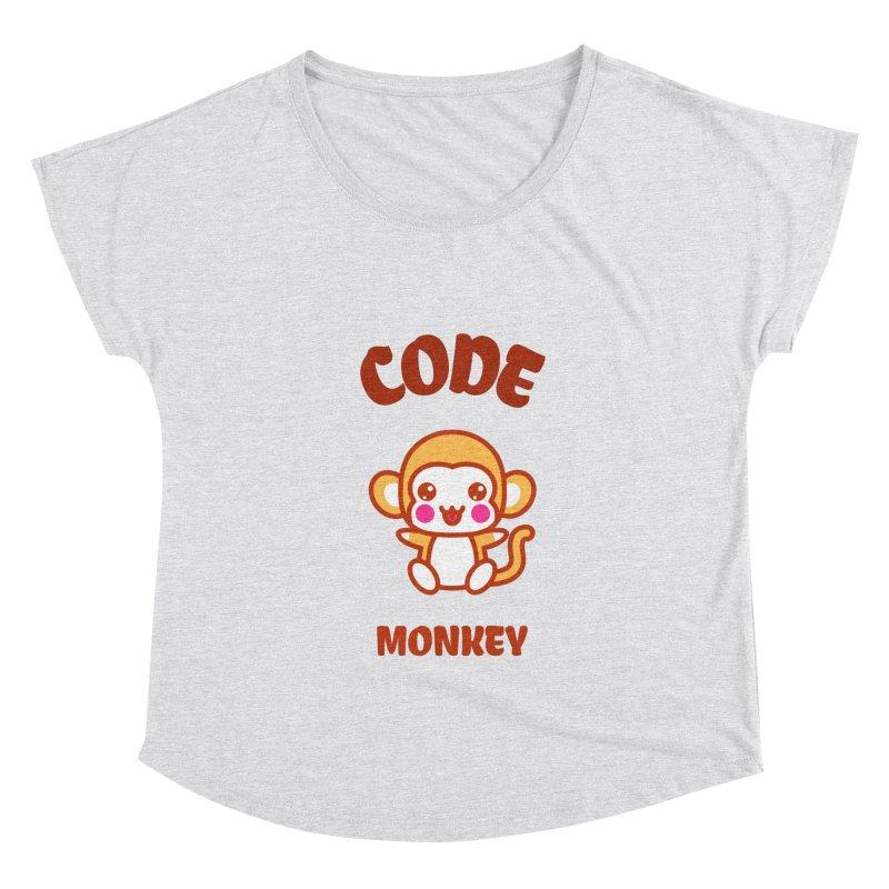 Code Monkey Women's Scoop Neck by Women in Technology Online Store