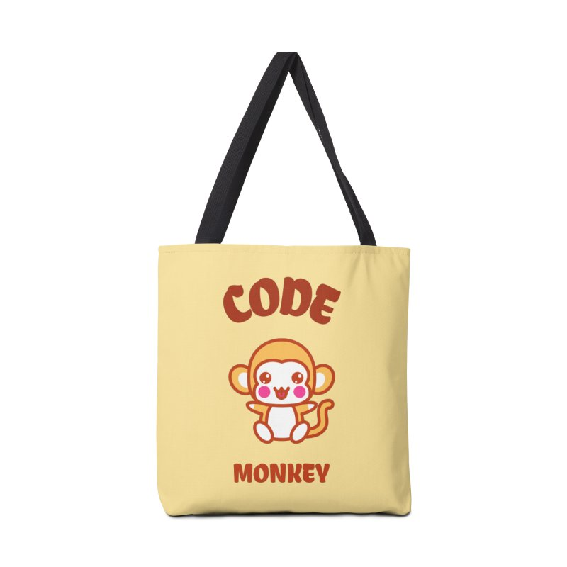 Code Monkey Accessories Tote Bag Bag by Women in Technology Online Store
