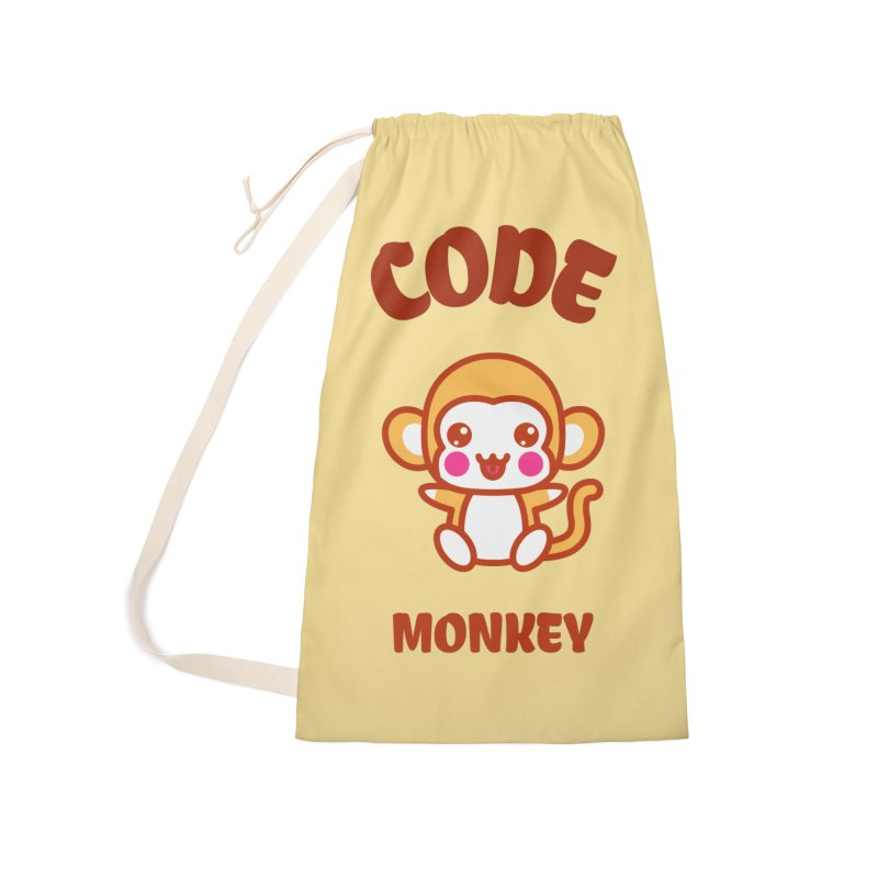 Code Monkey Accessories Laundry Bag Bag by Women in Technology Online Store