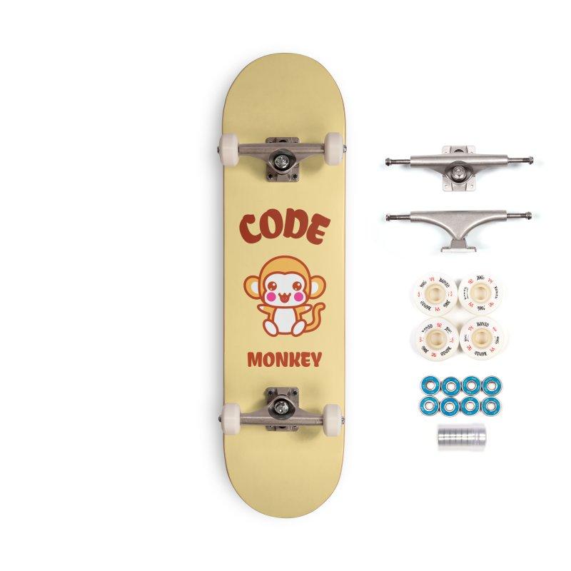 Code Monkey Accessories Skateboard by Women in Technology Online Store