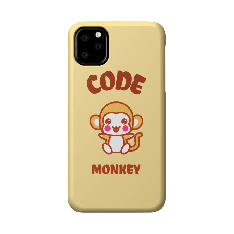 Code Monkey Accessories Phone Case by Women in Technology Online Store